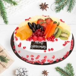 Delicious Fresh Fruits Cake	 to Allahabad