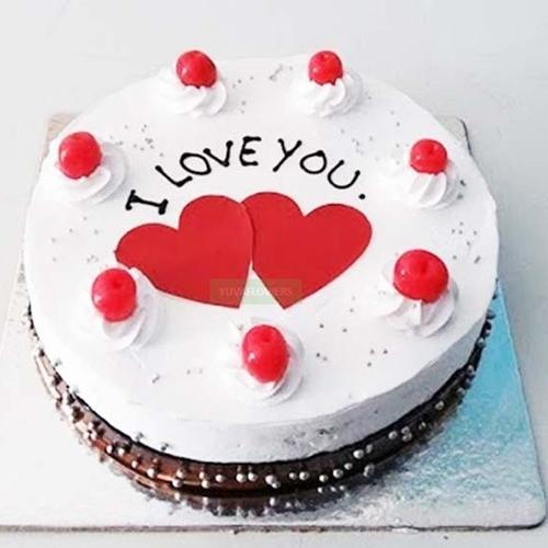 Bakery-Fresh Black Forest Cake for Propose Day to Aluva