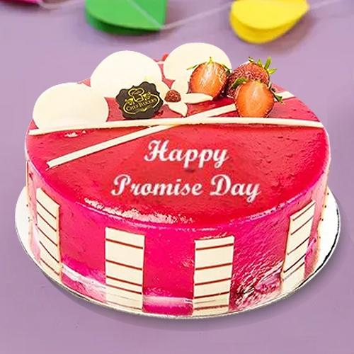 Finest Strawberry N Fresh Fruit Fusion Cake for Pr... to Aluva