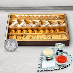 Haldiram Assorted Sweets N Thali , Free Coin  to Gwalior