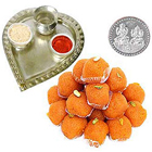 Free Coin with Aarti Thali N Haldirams Ladoo Combo to Agra