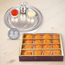 Haldiram Ladoo N Thali , Free Coin  to Hyderabad