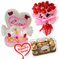 Valentine Gift Collection with Warm Indulgence to Gurgaon