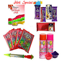 Mix Colours with Colours in Holi Hamper to Allahabad