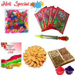 Glamorous Spirit of Holi Gift Hamper to Amalsad