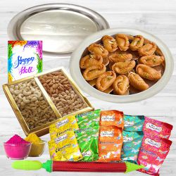 Safe and Sweet Holi Gift Hamper to Ahmedabad