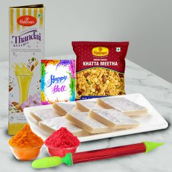 Cool Combo of Holi and Thandai Hamper to Bhubaneswar