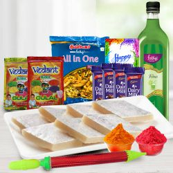 Cherish the Happiness Holi Gift Hamper to Allahabad