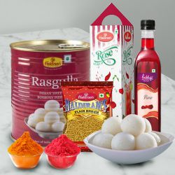Yummy Haldirams Snacks Hamper to Ahmedabad