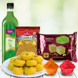 Palatable Haldirams Gift Combo to Aleppy