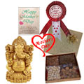 Love You Dear Mom Gift Hamper to Hyderabad