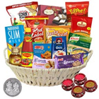 Charming Gift Hamper with Delicacy of Goodies to Gurgaon