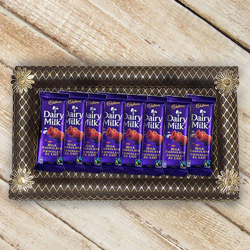 Smile Sensation with Cadbury Dairy Milk Chocolates Collection to Gurgaon