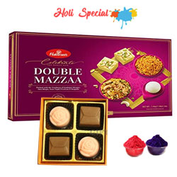 Deluxe Haldirams Celebration and Chocolate Bites Gift Set to Udaipur