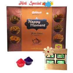 Luscious Sweet Chocolate and Haldirams Snacks Gift Hamper to Udaipur
