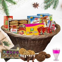 Colourfull Moments Christmas Gift Set to Ahmedabad