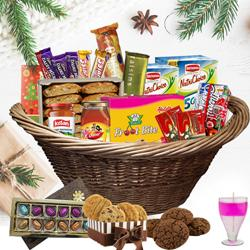 Bright Holiday Wishes Christmas Hamper to Akola