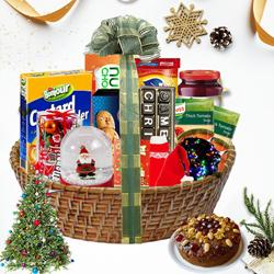 Sensational Christmas Traditional Hamper<br> to Akola