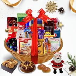 Embrace the Extraordinary Season Christmas Basket<br> to Berhampur