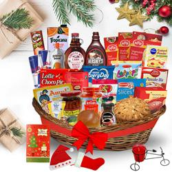 Elegant Christmas Brunch Basket<br> to Bellary