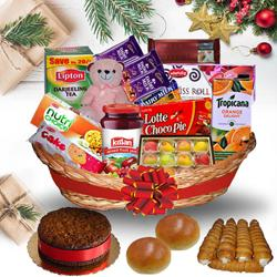 Taste of Enigmatic Christmas Hamper<br> to Bangalore