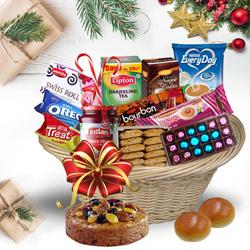 Basketful of Exciting Christmas Bites<br> to Akola
