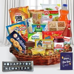 Lasting Impression New Year Gift Hamper to Udaipur