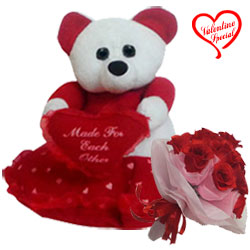 Enticing Fall in Love Gift Combo to Faridabad