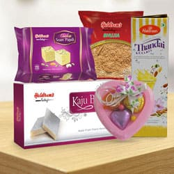 Haldirams Pleasurable Gift Collection to India