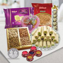 Luxury Celebration Diwali Gift Basket to Indore