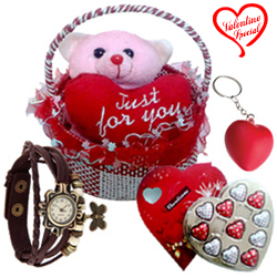 Due Drop of Romance Valentine Hamper to Alwar