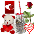 Pious Romance Valentine Gift Combo to Gurgaon