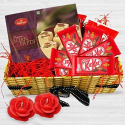 Joyful Diwali Celebration Gift Hamper to Barauipur