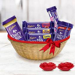 Delish Dairy Milk Deepawali Duo to Chandigarh
