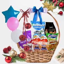 Classic Christmas Gift Basket