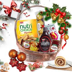 Premium Christmas Gift Basket 