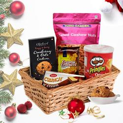 Gourmet Goodies Festive Basket