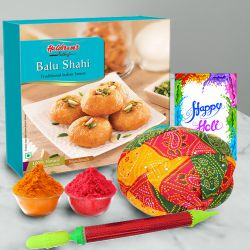 Glamorous Festive Delight Holi Hamper to Indore