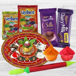 Unlimited Holi Fun with Dairy Milk Chocolates, Puja Thali, Herbal Gulal N Pichkari to Banda