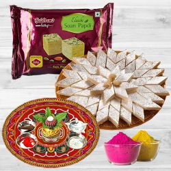 Enjoyable Holi Treat Hamper to Aleppy