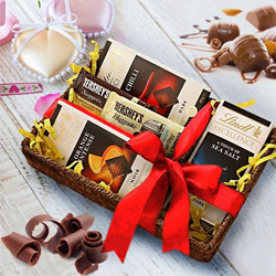 Tasty Break Time Gift Basket of Chocolates to Attur