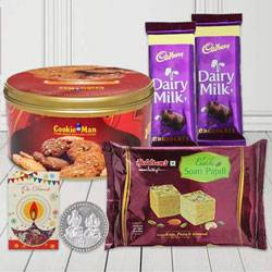 Remarkable Diwali Gift Hamper with Haldiram Sweets N Chocolates to Adilabad