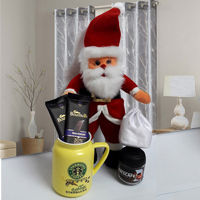 Santa Claus with Morning Coffee to Bhilai