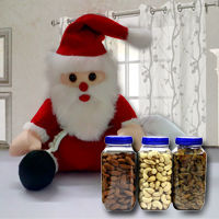 Santa Claus with Dried Fruits to Adugodi