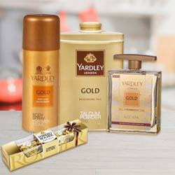 Yardley Grooming Set for Men N Ferrero Rocher to Adoor