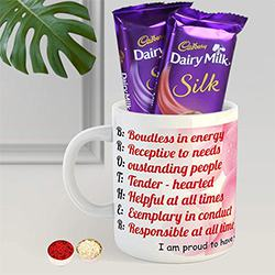 Coffe Mug N Cadbury Silk to Alwar