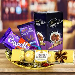 Classic Celebration Hamper of Chocolates to Adoni