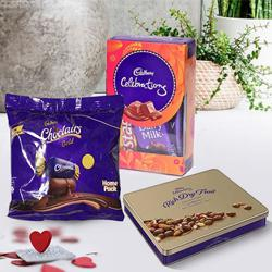 Tempting Cadbury Treasure Hamper to Adoni