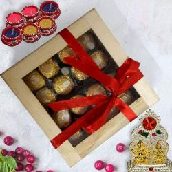 Marvelous Ferrero Rocher Gift Box on Diwali to Aligarh