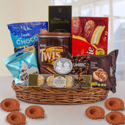 Wonderful Chocos Gift Hamper for Diwali to Jalandhar